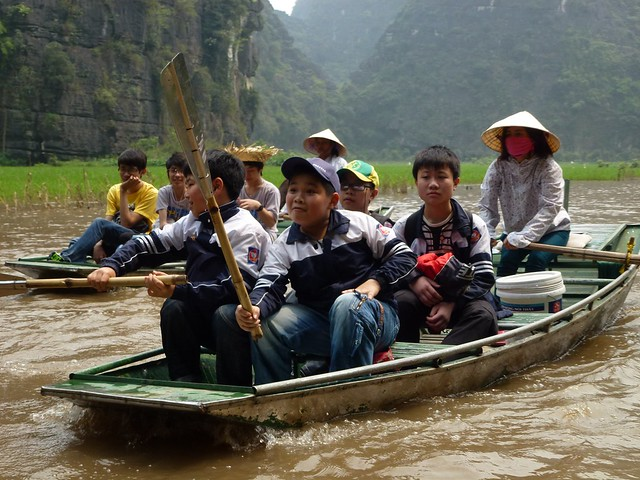 Vietnamese school children