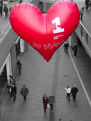 Liverpool One - Valentines Day