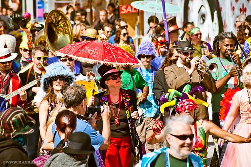 Venice Beach Mardi Gras 2012