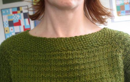 Knitting A Sweater Neckline : Knitting tip for stretchy necklines u003e amy a la mode
