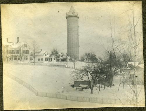 watertower attleboro circa1900