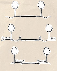 Proposal for Cycle Track Design 1937