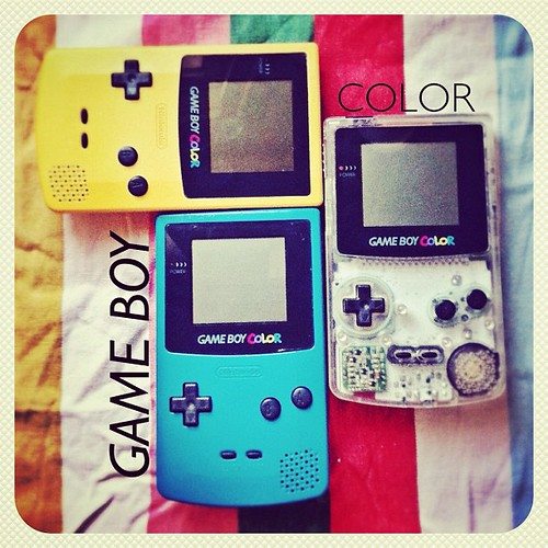 Nintendo's Game Boy Color #neoretrogizmos