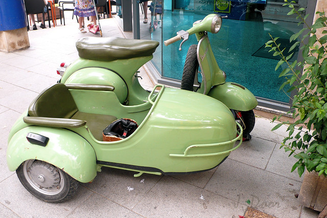 Images like: Vespa SS Motor Scooter and Sidecar (Showing 0 - 100