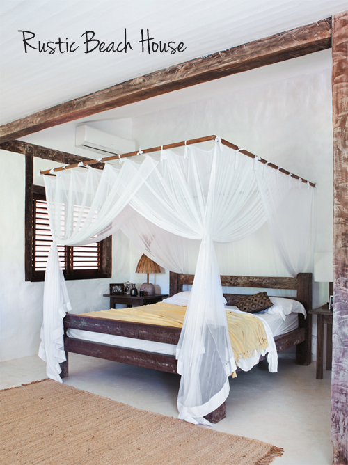 A Rustic Beach House In Bahia Brazil
