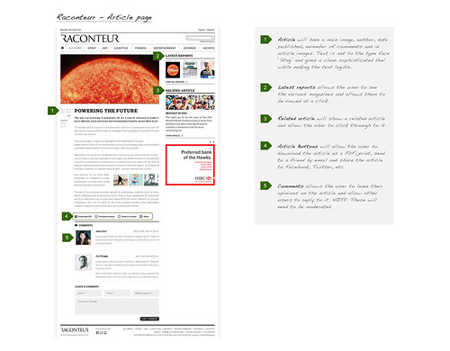 2. Annotations for Raconteur's article page