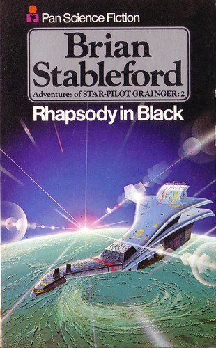 Rhapsody in Black by Brian Stableford. Pan 1975. Cover artist Angus McKie