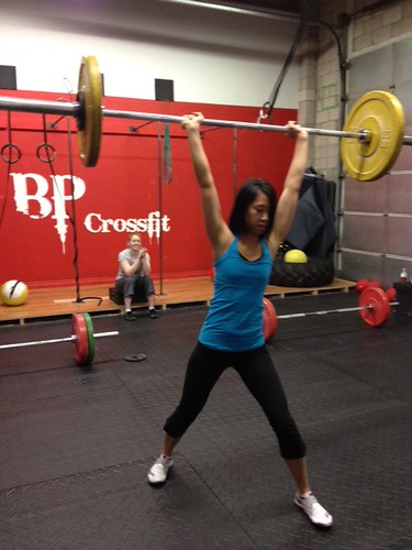 monica clean and jerk