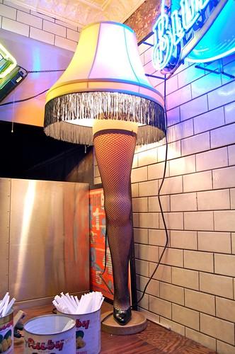 leg lamp