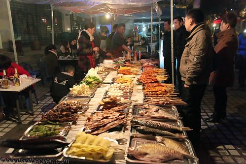 Shaokao (烧烤), Street Barbecue