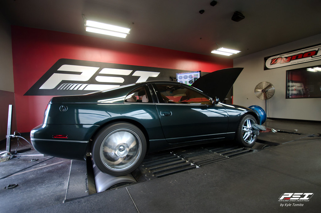 1994 Nissan 300ZX on the dyno at PSI - rolling