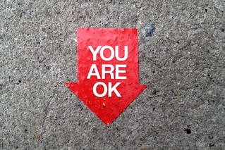 NYC Sidewalk: You Are OK