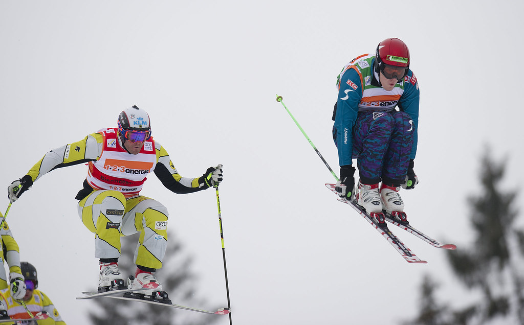 Chris Del Bosco in action during the Bischofswiesen/Goetschen, Germany, World Cup.