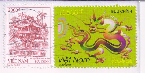 Vietnam Year of the Dragon Stamp