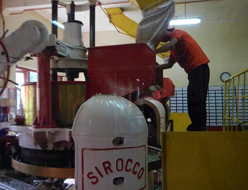 Boh tea factory in the Cameron Highlands, Malaysia