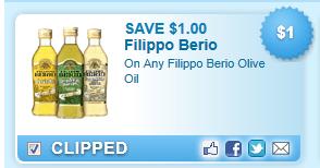 Filippo Berio Olive Oil  Coupon