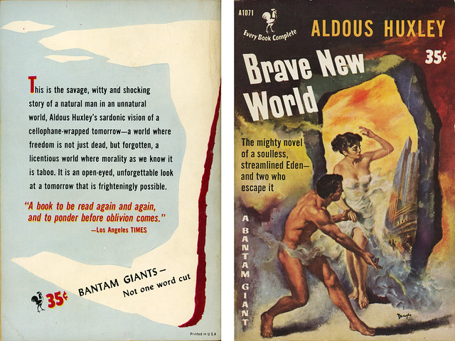 an overview of the construction of brave new world novel by aldous huxley