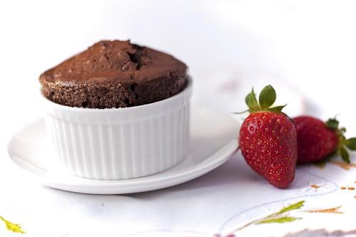 Suflé de xocolata 2