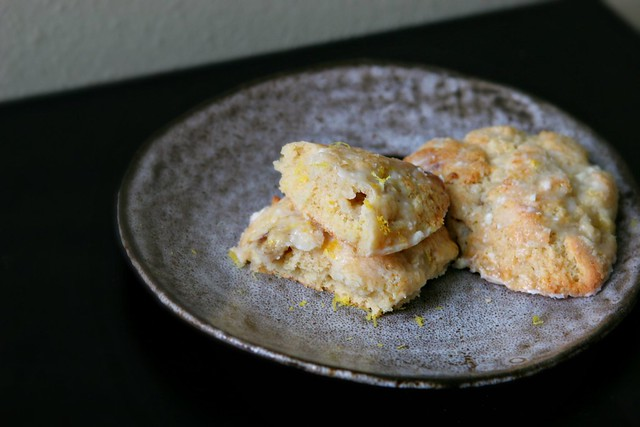 Banana Lemon Scones