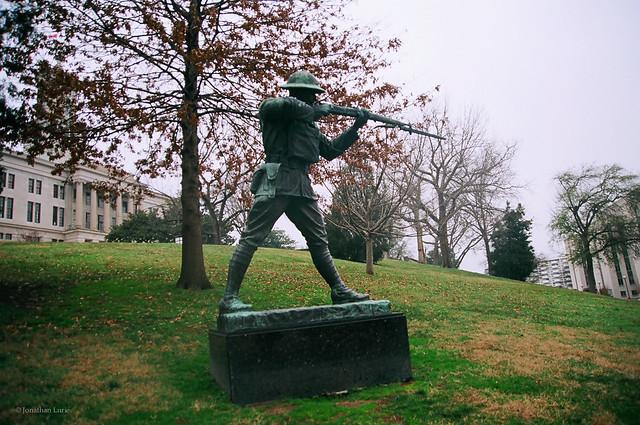Alvin York Statue