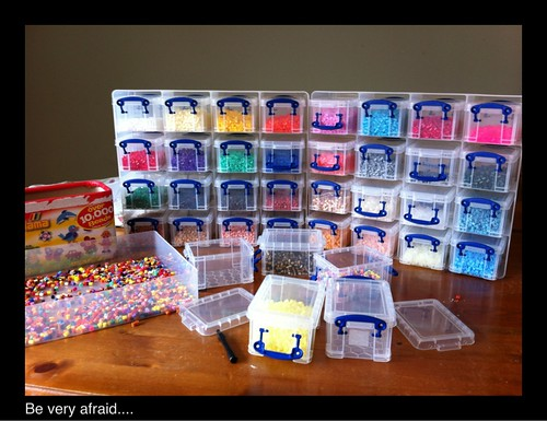 Perler Bead Storage