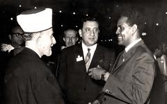 مع رئيس وزراء الصومال والحسيني - 1964