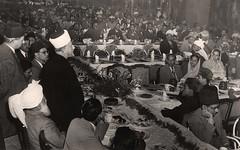 حفل الحاج أمين الحسيني المفتي العام لفلسطين - فندق مترو بول - 9 شباط 1951