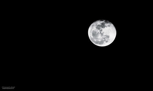 The moonlight 09/03.. by Ahmed.Sbai Photography