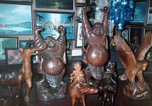1987-88 Angeles City-Wood Carving