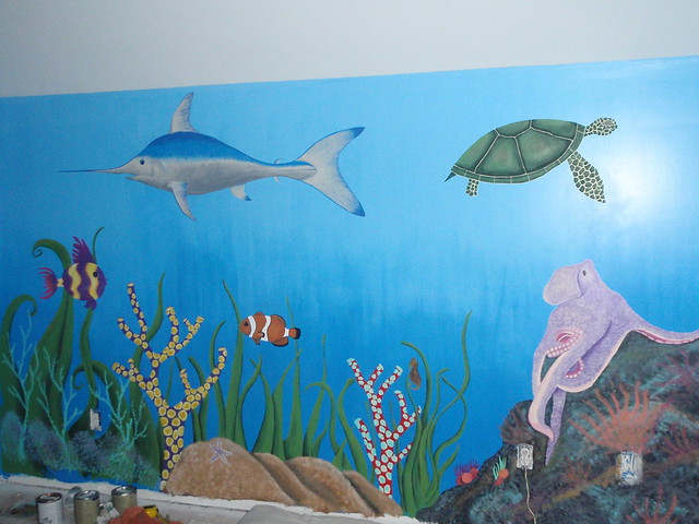 underwater wall mural flickr photo sharing