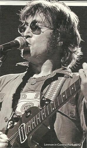 1972 John Lennon - Central Park, NYC, NY