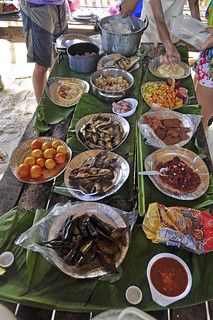 breakfast in Calaguas
