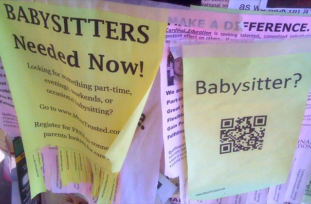 QR_Babysitters.jpg from Flickr via Wylio