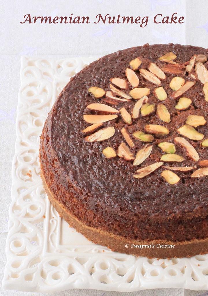 Swapna's Cuisine: Armenian Nutmeg Cake ~ Daring Baker's Challenge ...
