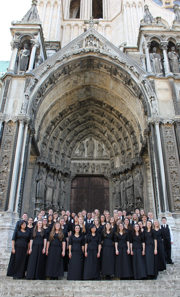 Tacoma Youth Chorus at Chartres Cathedral