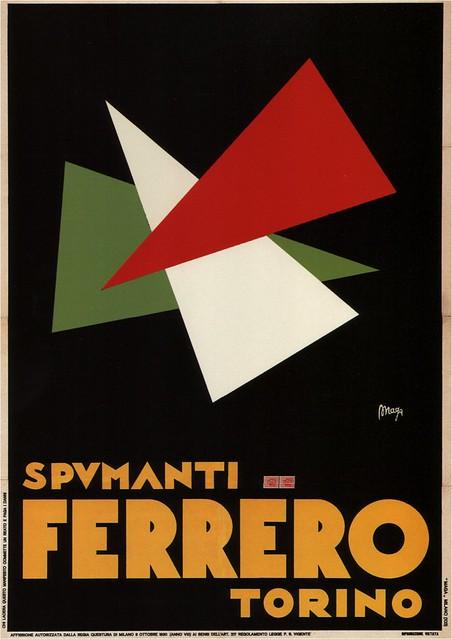 Spumanti Ferrero. 1932