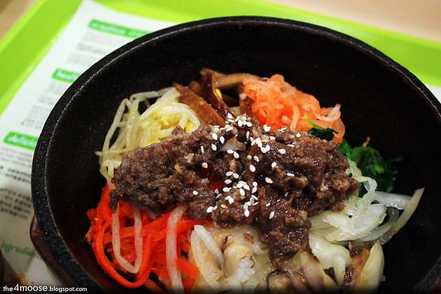 Hungry Korean - Beef Bibimbap
