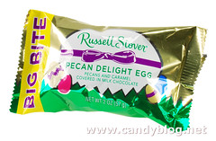 Russell Stover Big Bite Pecan Delight Egg