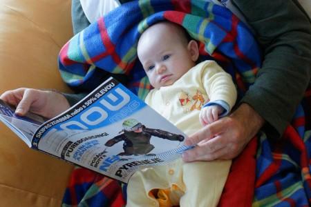 Nejmladší čtenářka časopisu SNOW