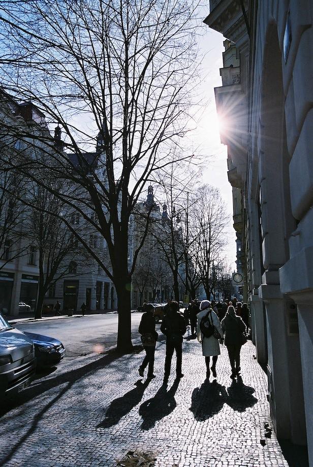 布拉格猶太區街景