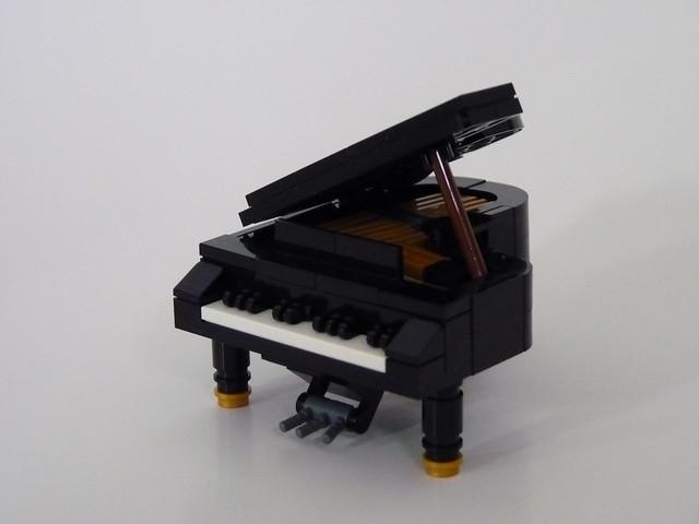 Lego Grand Piano Flickr Photo Sharing