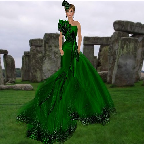 OC ST PATRICK ROYAL GOWN !! by mimi.juneau *Mimi's Choice*