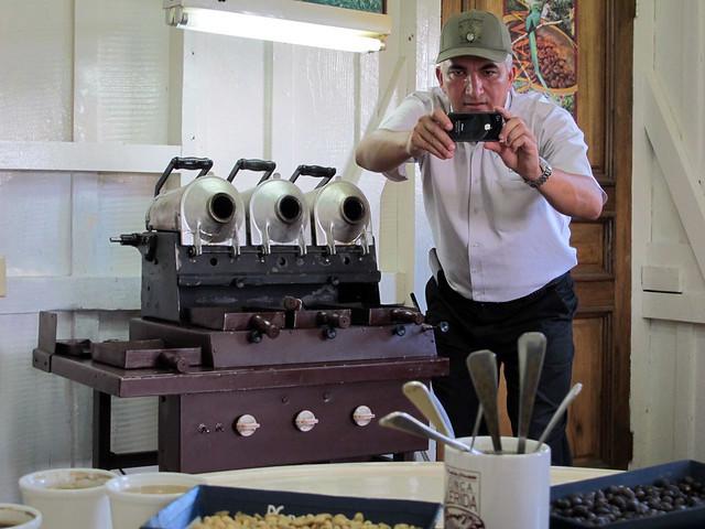 Laboratório de café