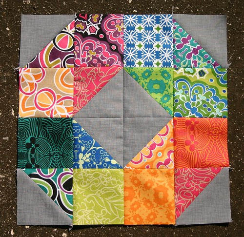 Patchwork Wheel tutorial