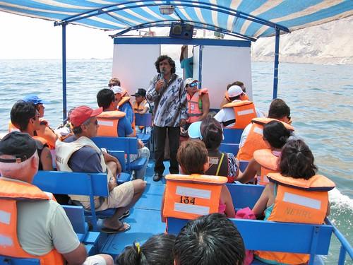 Iquique boat tour