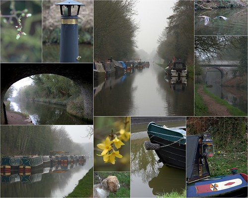 Misty canals, Brewood, Staffordshire