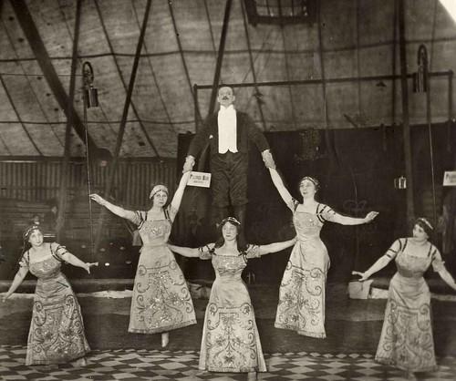 circus Althof, de Grunatos,acrobaten 1915