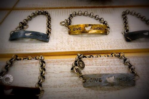 Give Hope Bracelets