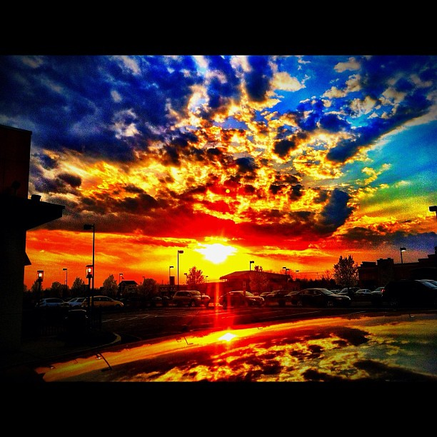 Flare 101. #iPhoneography #photography #sky #clouds #cloud ...