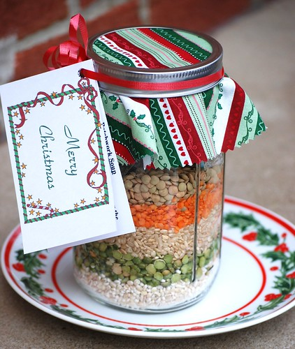 Gift in a Jar Soup Mix
